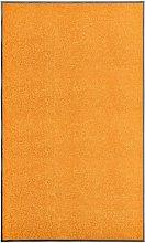 Doormat Washable Orange 90x150 cm - Orange - Vidaxl