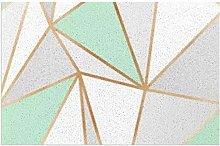 Doormat with Heavy Duty Non-Slip PVC Backing Mint