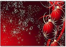 Doormats 3D Christmas Slip Kitchen Restaurant