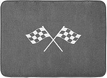 Doormats Bath Rugs Outdoor/Indoor Door Mat Race