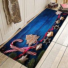 Doormats Christmas Tree Gift Fireplace Aisle Rugs