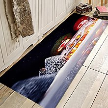 Doormats Gift Christmas Tree Fireplace Hallway
