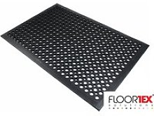 Doortex Rubber Bubble Mat With Open Top Design,