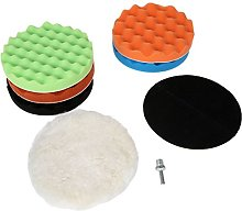 Dophee 8pcs Car Polishing Buffing Pads 7""