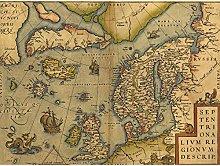 Doppelganger33 LTD Maps Vintage North Atlantic
