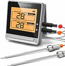 DOQAUS Dual Probe Digital Meat Thermometer,