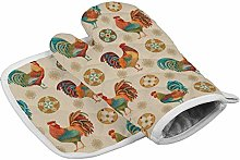 Dor675ser Oven Mitts and Potholders (2-Piece