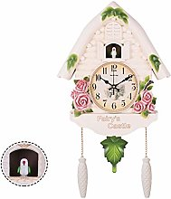 DORALO Cuckoo Clock Black Forest Clock with
