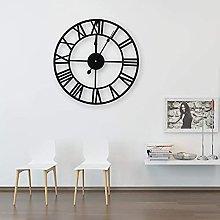 DORBOKER Premium Wall Clock Large Silent Skeleton