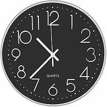 DORBOKER Wall Clock -12 Inch Silent Wall Clocks