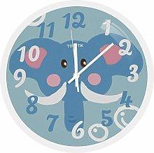 DORBOKER Wall Clock Silent Non-Ticking Round