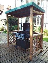 Dorchester BBQ Cooking Station Arbour HB137G