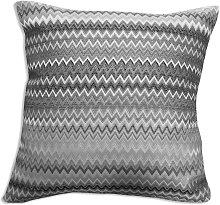 Dorchester Venice Silver Cushion Cover Geometric