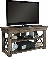 Dorel Home - Wildwood Wood Veneer Rustic Grey TV