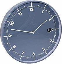 Dorex Clock, PVC, Blue Grey,One Size