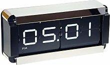 Dorex Clock, PVC, Brown Black White, One Size