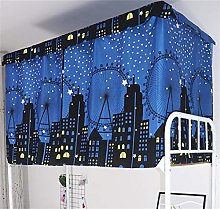 Dormitory Bunk Bed Curtains Dustproof Ventilation