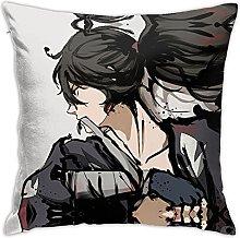 Dororo Square Pillowcase Soft Plush Living Room