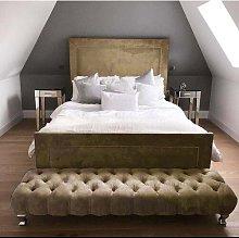 Dororthy Upholstered Bed Frame Willa Arlo