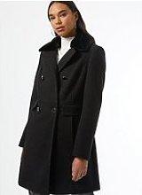 Dorothy Perkins Dolly Coat - Black