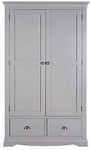 Dorset 2 Door, 2 Drawer Wardrobe