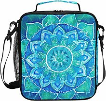 DOSHINE Insulated Lunch Bag Abstract Indian