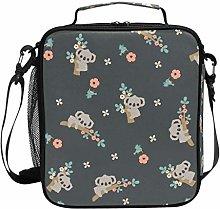 DOSHINE Insulated Lunch Bag Cute Koala Animal
