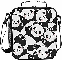 DOSHINE Insulated Lunch Bag Cute Panda Animal