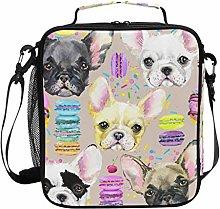 DOSHINE Insulated Lunch Bag French Bulldog