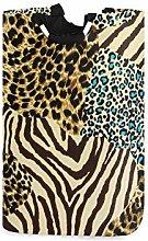DOSHINE Laundry Basket, Animal Zebra Tiger Print