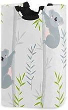 DOSHINE Laundry Basket, Cute Koala Bamboo Tree