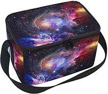 DOSHINE Universe Galaxy Nebula Space Lunch Box