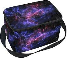 DOSHINE Universe Galaxy Star Space Lunch Box Bag,