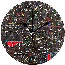 DOSHINE Wall Clock, Math Education Educational