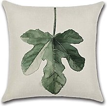 Dosige Plant Hug Pillow Case, Green Cushion Cover,
