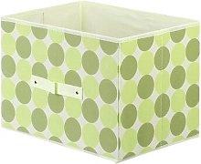 Dot Soft Fabric Bin Rebrilliant Colour: Apple Green