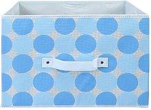Dot Soft Fabric Bin Rebrilliant Colour: Baby Blue