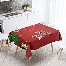 DOTBUY Christmas Table Cloths Rectangular