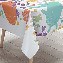 DOTBUY Tablecloth Waterproof, Children Rectangular
