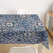DOTBUY Tablecloth Waterproof, Rectangular Bohemia