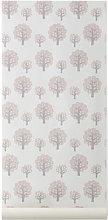 Dotty Wallpaper - 1 panel by Ferm Living Pink