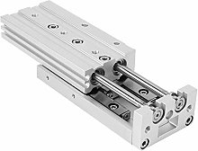Double Acting M5×0.8 Guide Rail Cylinder Slide