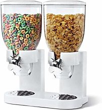 Double Airtight Clear Container Cereal Dispenser