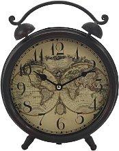 Double Bell Atlas Desk Clock Borough Wharf