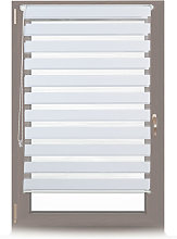 Double Blinds, Klemmfix without Drilling, Side-Pull Shades, Duo Roller Blinds for Windows, Fabric, 90x150 cm, White - Relaxdays