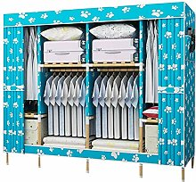 Double Canvas Effect Wardrobe - lockers with Tail,E