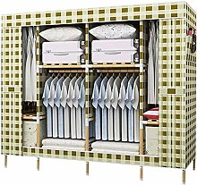 Double Canvas Effect Wardrobe - lockers with Tail,G