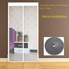 Double Door Screen mesh Curtain,Full Frame Quiet