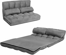 Double Folding Sofa Bed, 6-Position Adjustable