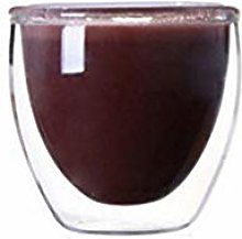 Double Glass Coffee Cup Egg-Shaped Coffee Cup Heat